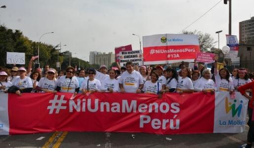 LA MOLINA PRESENTE #NIUNAMENOS