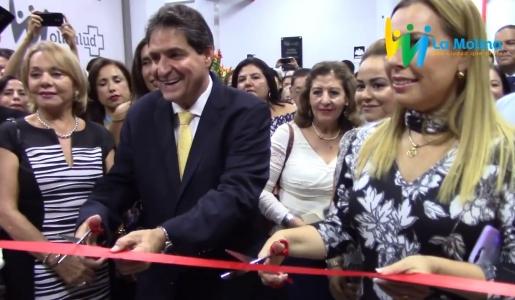 Inauguración de Clínica Municipal MoliSalud