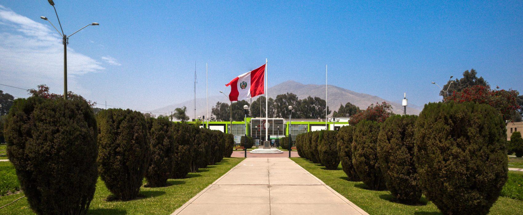 Nuevo Palacio Municipal y Parque Principal del Distrito