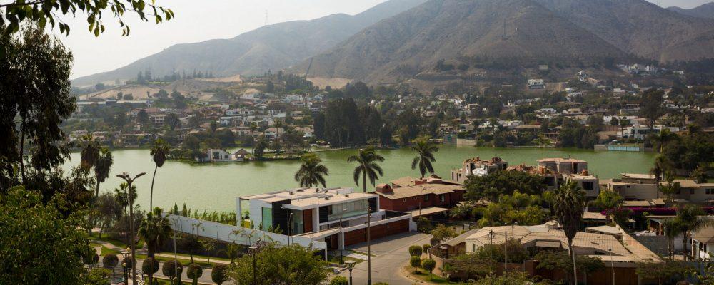Residencias alrededor de La Laguna